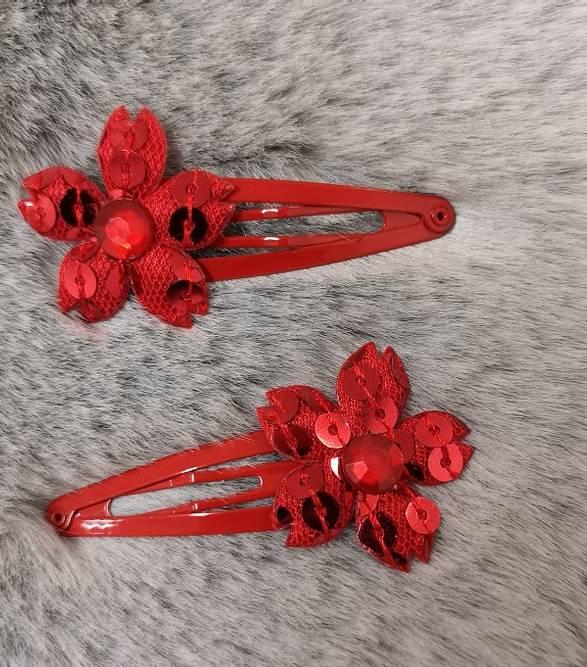 Bilde av Hårspenne med perle /paljetter
