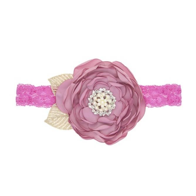 Bilde av Hodebånd dusty rose